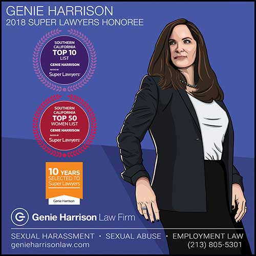 Best sexual harassment attorney in California Genie Harrison