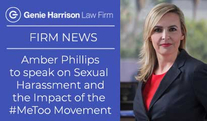 Sexual harassment attorney Amber Phillips discusses the #metoo movement