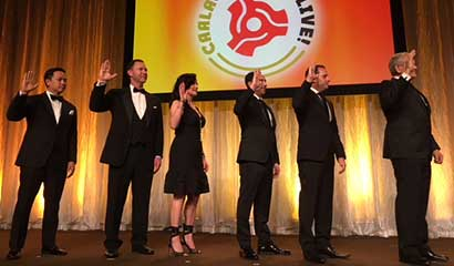 CAALA 2018 Executive Committee being sworn in at the Beverly Wilshire Hotel in Beverly Hills.