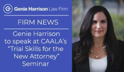 CAALA Trial Skills for the New Attorney Seminar