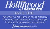 Genie Harrison is recognized as a top lawyer by The Hollywood Reporter.
