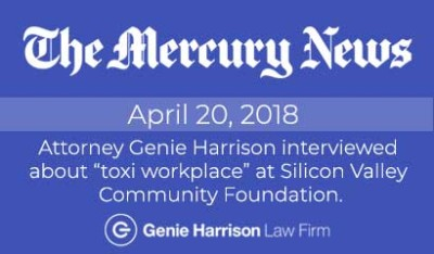 Mercury News story on toxic workplace environment at Silicon Valley Community Foundation