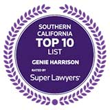Top Super Lawyers Top 10 List badge
