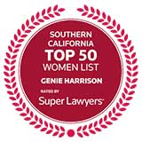 Top Women Super Lawyers badge
