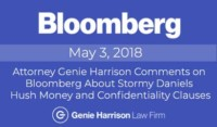 Bloomberg story on Stormy Hush Money paid by Donald Trump