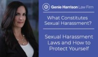 sexual harassment laws, What Constitutes Sexual Harassment? story by Genie Harrison