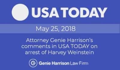 Harvey Weinstein arrest in USA Today