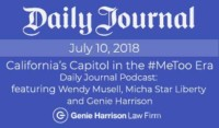 Podcast on MeToo by Daily Journal