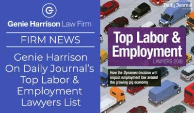 Daily Journal Top Employment Lawyer List
