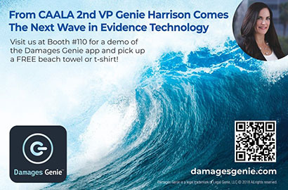 Damages GenieTM app launched at CAALA Vegas