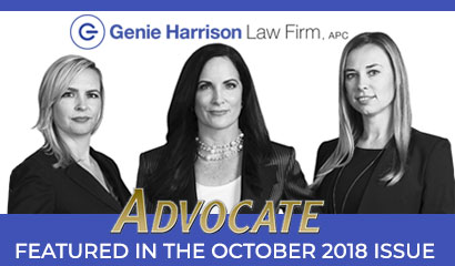 Advocate Me Too story by Genie Harrison Law Firm