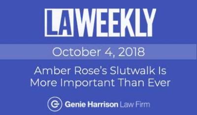 Amber Rose Slutwalk in LA Weekly