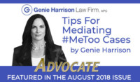Tips for Mediating Me Too Cases
