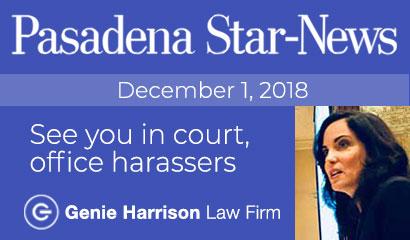 Sexual Harassment Bill SB1300