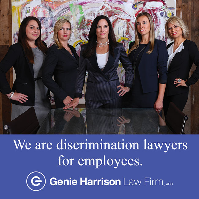 Discrimination lawyers at the Genie Harrison Law Firm