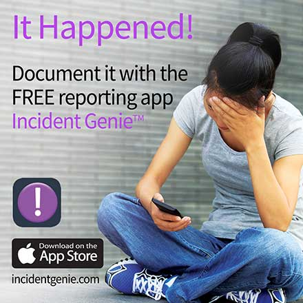 Incident Genie reporting app