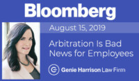 Bloomberg story on forced arbitration
