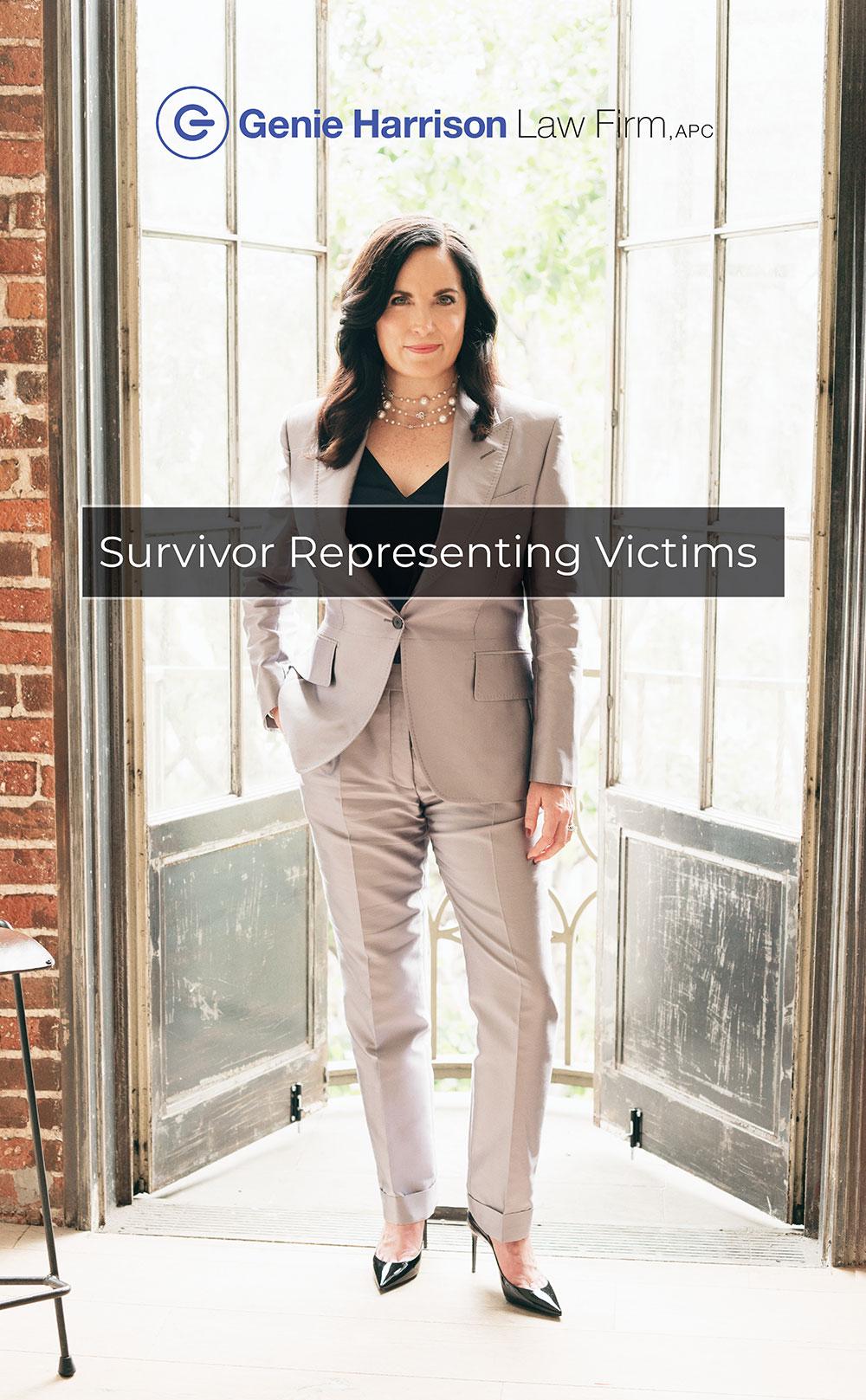 #metoo attorney Genie Harrison