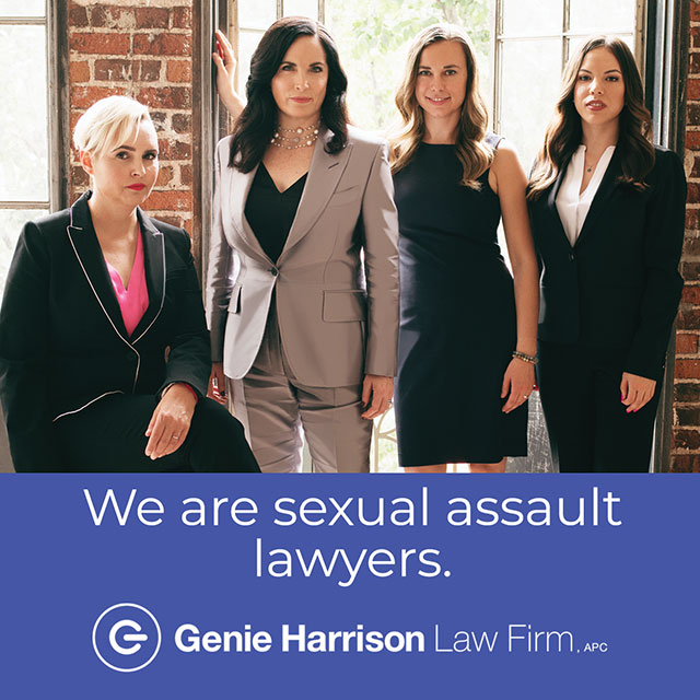 Sexual assault lawyers at the Genie Harrison Law Firm in California.