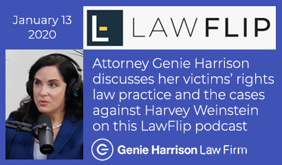 Genie Harrison on Law Flip podcast