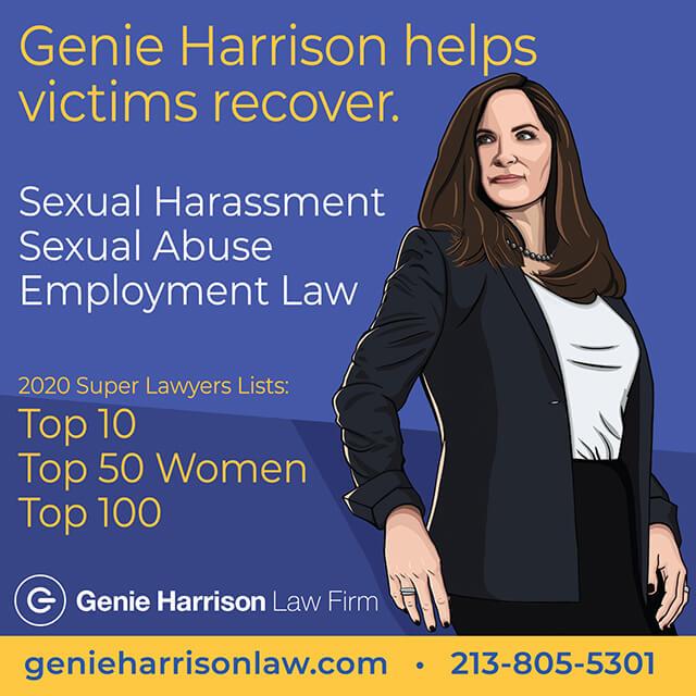 Employment lawyer Genie Harrison