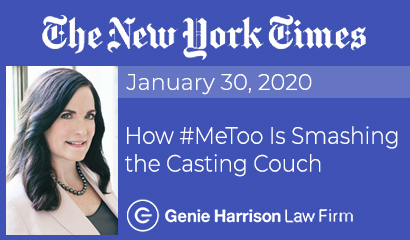 #MeToo Is Smashing the Casting Couch