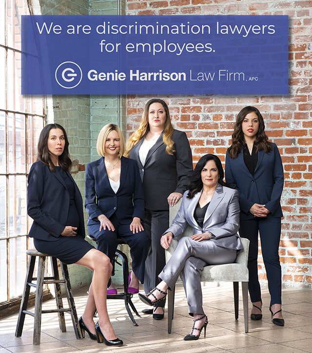 Workplace discrimination lawyers at the Genie Harrison Law Firm