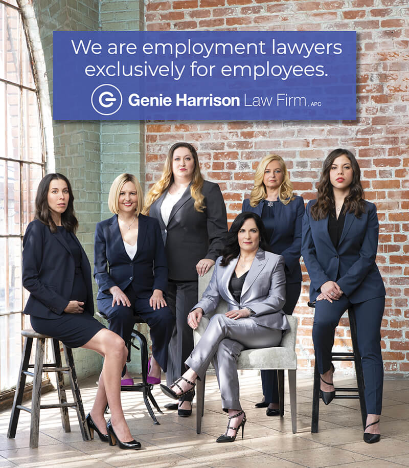 Employment lawyers at the Genie Harrison Law Firm