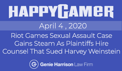 Riot Games Gender Discrimination Lawsuit at Happy Gamer
