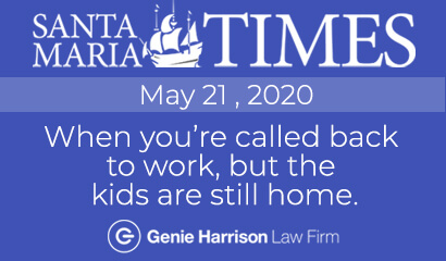 Lawyer Genie Harrison interviewed by Santa Maria Times