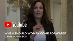 In this video: When victims of sexual harassment should come forward