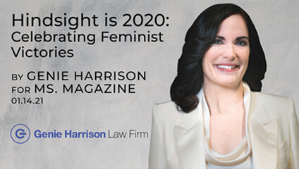 Feminist Victories by attorney Genie Harrison