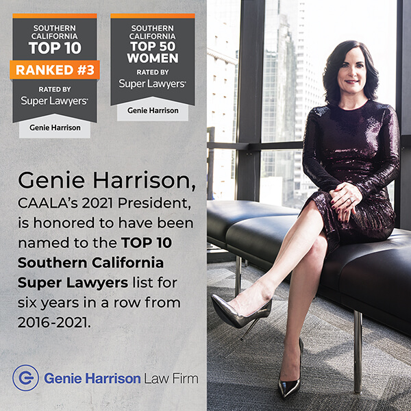 Genie Harrison Top 10 Super Lawyers List