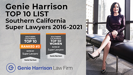 Genie Harrison on Top 10 Super Lawyers List