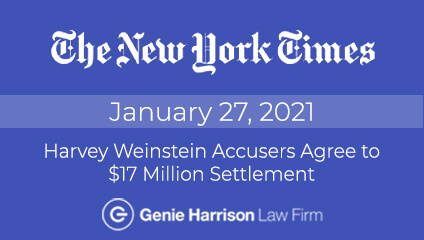 Weinstein settlement approved