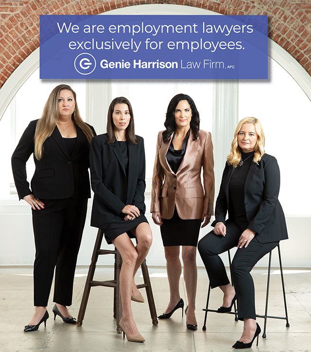 Los Angeles Employment Lawyers at Genie Harrison Law Firm