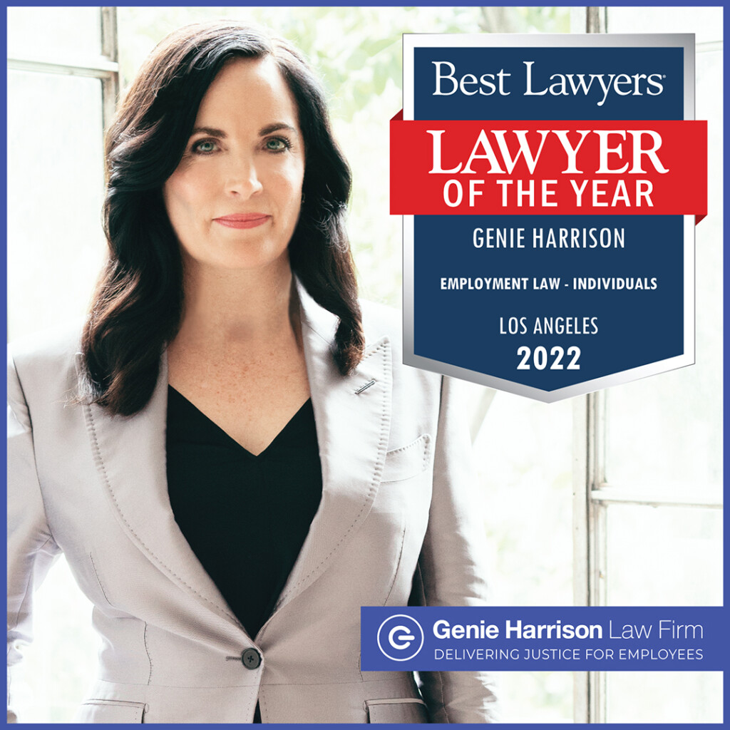 Employment lawyer of the year Genie Harrison