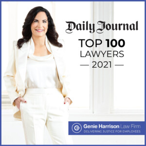 Daily Journal Top 100 Lawyers List with Genie Harrison