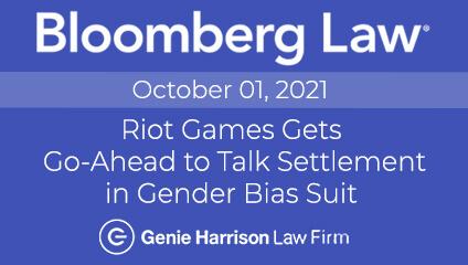 Riot Games Talk Settlement